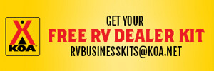 KOA Free RV Dealer Kit